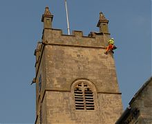 Structural inspection & maintenance of church tower